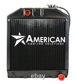 (24074) Radiator C7NN8005H for Ford NH Tractor 2100 2120 2300 2600 2610 3610 390