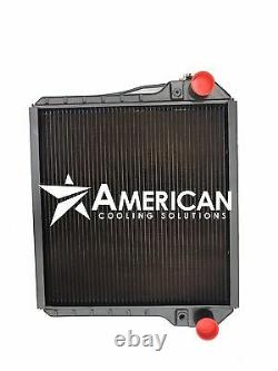 (24134) Radiator for Ford NH and Case IH Tractor S140 P140 P170 S170 MX100 MX110