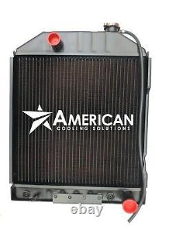 (24153) Copper Brass Radiator for Ford New Holland E7NN8005BA 4-Row