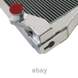 3 Row Aluminum Radiator For 8N8005 Ford 2N 8N 9N Models 17''H x15 3/8''W Tractor