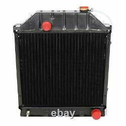 4 ROW Radiator For Ford Tractors E0NN8005MD15M E0NN8005MA15M E0NN8005KA15M