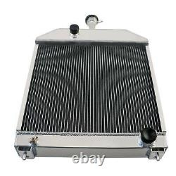 4 Row Radiator Fits Ford New Holland 445D 455 455C 555C 555D 565D 655C 219861