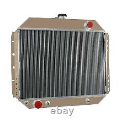 4RowithCore Aluminum Radiator FOR FORD F100 F150 F250 F350 Bronco TRUCK 1966-79, OZ
