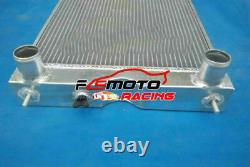 5 Row Alu Radiator + FAN For Ford 2N/8N/9N Tractor WithFlathead V8 700HP 1928-1952