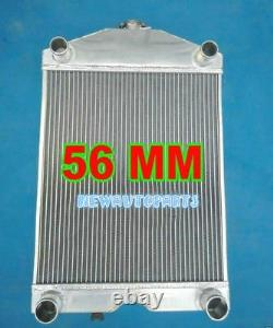 5 Row Full Aluminum Radiator For Ford 2N / 8N / 9N Tractor WithFlathead V8 Engine