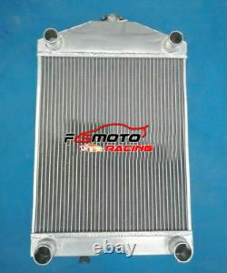 5 row Aluminum Radiator for Ford 2N/8N/9N Tractor WithFlathead V8 700HP 1928-1952
