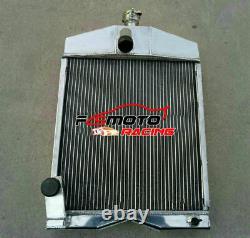 50mm Aluminum Radiator For Ford 2N 8N 9N Tractors 8N8005 Tractor 1939-1952