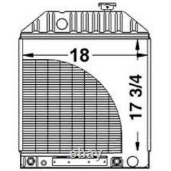 5110 5610 6410 6610 6710 6810 7000 7100 7200 7610 7710 Ford Tractor Radiator