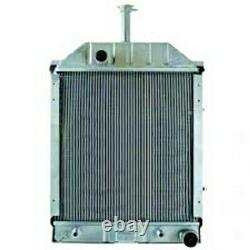 550 555 555a 555b 655 655a Ford Backhoe Tractor Radiator 83918860 87765504
