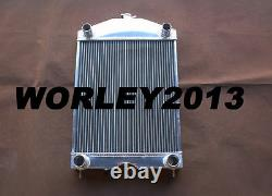 56mm aluminum radiator for Ford 2N / 8N / 9N tractor withflathead V8 engine Manual