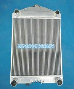 5Row Aluminum Radiator+Fan For Ford 2N / 8N / 9N Tractor WithFlathead V8 Engine MT