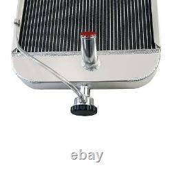 8N8005 3 Rows Aluminum Tractor Radiator Fit Ford 9N 2N 8N Models