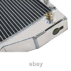 8N8005 3Row Aluminum Tractor Radiator WithCars Fits Models Ford 8N, Ford 9N, Ford 2N