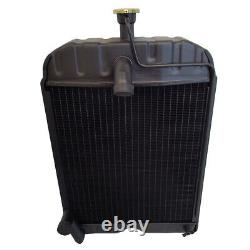 8N8005 Tractor Radiator with Cap Fits Ford Fits New Holland 2N 8N 9N