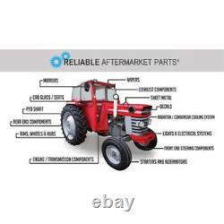 8N8005Radiator with ORIGINAL style cap Hoses Pads Fits Ford Tractor 2N 8N 9N