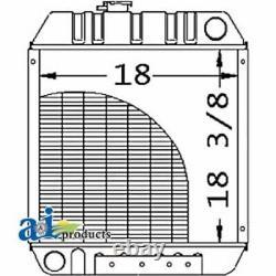 A-86563887 For Ford Tractor Radiator LS140 LS150 LX465 LX485 LX565 LX6