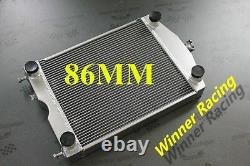 Aluminum Radiator Fit Ford 2N/8N/9N Tractor WithFlathead V8 Engine 86MM Core