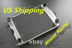 Aluminum Radiator For Ford 2N/8N/9N tractor withflathead V8 engine 2x1up to 700HP