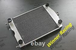 Aluminum radiator Ford 2N/8N/9N tractor withflathead V8 engine 2 ROWS 1 CORE