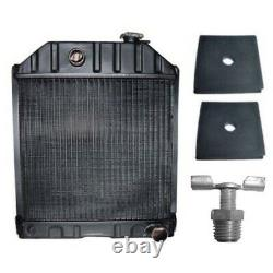 C7NN8005H Radiator Fits Ford Tractor 2000 2600 3000 3600 4000 & 2 Mounting Pads