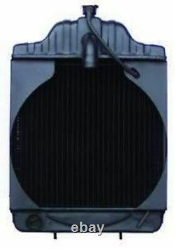 CASE BACKHOE RADIATOR with Oil Cooler Fitting A39345 530CK 580B 580CK
