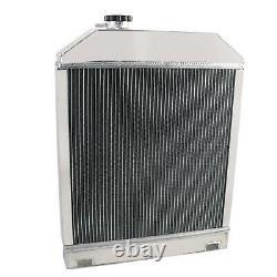 D8NN8005SB Aluminum Radiator for Ford 4500 5000 5100 5200 5600 6600 345C 445+