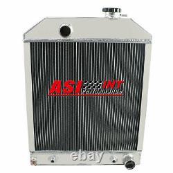 D8NN8005SB Aluminum Tractor Radiator Ford 4500 5000 5100 5200 5600 6600 345C 445