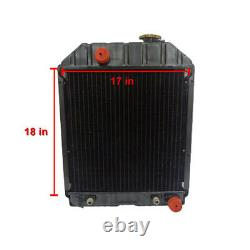 D8NN8005SB Tractor Radiator Fits Ford New Holland 345C 445C 445 445A 535 545 +