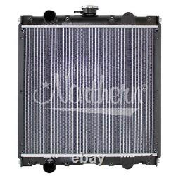 FORD/ NEW HOLLAND CASE/IH TRACTOR RADIATOR 16 3/4 x 17 5/8 x 1 7/8 (PTR)