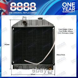 Fits FORD NEW HOLLAND 2000,3000,4000,2600,3600,4600,3910 TRACTOR RADIATOR