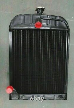 For Ford 8N 9N 2N Radiator with cap 8N8005 4 ROW Quality