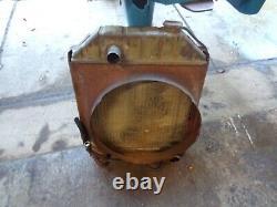 For Ford Tractor Radiator + SHROUD 5000 5100 5600 6600 C7NN8005E 83916415