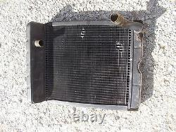 Ford 960 tractor Original working engine motor radiator assembly with cap