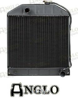Ford New Holland 2000 3000 4000 2600 3600 4600 3910 Tractor Radiator 4 Row