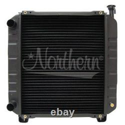 Ford/ New Holland Case/IH Tractor Radiator (CBR) 14 3/4 x 17 1/2 x 1 7/8