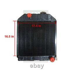 Ford New Holland Radiator Part WN-D8NN8005PA on Tractor 2000 2100 2300 2600 3000