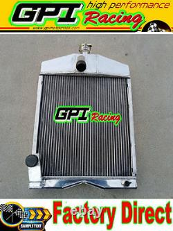 GPI 50MM FOR Tractor 8N8005 Ford Tractor 2N 8N 9N aluminum radiator
