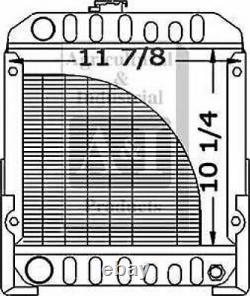 Made to Fit FORD 1110 COMPACT TRACTOR RADIATOR SBA310020020