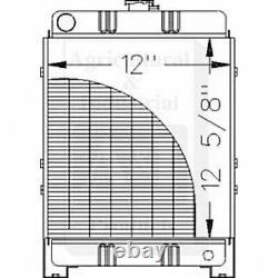 Made to Fit FORD 1200 COMPACT TRACTOR RADIATOR 86561701