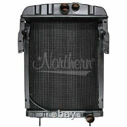 Made to Fit Ford New Holland Tractor Radiator 17 X 15 3/8 X 2 8N8005 9N, 2N, 8N