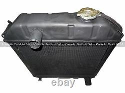 New Ford Tractor C7NN8005HRadiator 2000 2600 3000 3600 4000 & 2 Mounting Pads