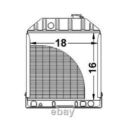 New Radiator C7NN8005H Fits Ford/Fits New Holland 2000 3000 4000 Tractors 818753