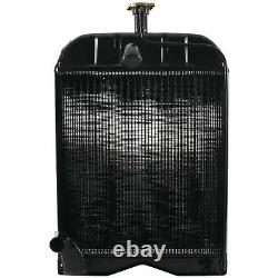 New Radiator with Cap For Ford/New Holland 8N, 9N, 2N Tractor 8N8005