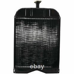 New Radiator with Cap for Ford 8N 9N 2N Tractor 8N8005, 86551430, 2N8100A