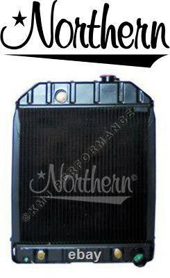 Northern 219869 Ford Tractor Radiator 4500 5100 5200 5600 6600 545 D8NN8005SB
