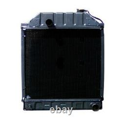 One (1) Radiator D8NN8005 Fits Ford 2000 3000 4000 5000 Series