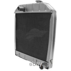Radiator (4 Row) Fits Ford Tractors 2000 2600 3000 3100 3500 3600 4000 4100