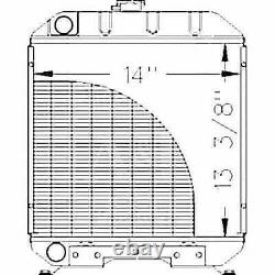 Radiator Compatible with Ford 1120 1215 1220 SBA310100610