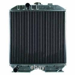 Radiator Compatible with Ford 1320 1520 1620 New Holland T1520 T1510 TC30
