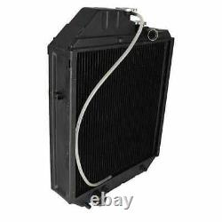 Radiator Compatible with Ford 7740 6640 5640 New Holland TS115 TS90 TS100